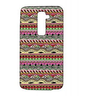 Pickpattern Back Cover For Lg G2 ROPESLGG2-15490