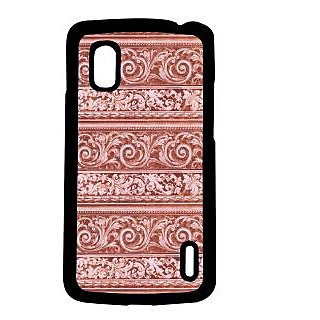 Pickpattern Back Cover For Lg Google Nexus 4 CARVEDWALLDESIGNN4-16493