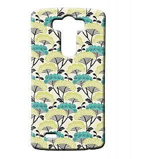 Pickpattern Back Cover For Lg G3 BUSHESLGG3-12679