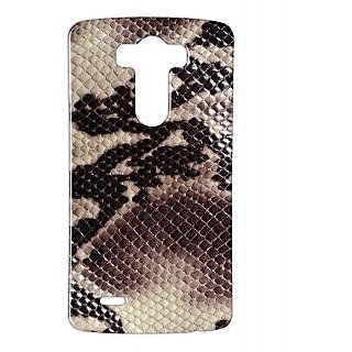 Pickpattern Back Cover For Lg G3 SNAKESKINLGG3-12709