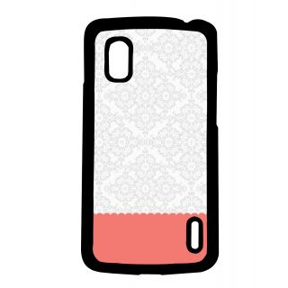 Pickpattern Back Cover For Lg Google Nexus 4 KNIGHTFLORALN4-17094