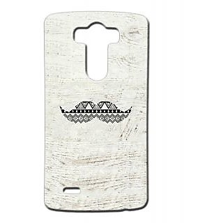 Pickpattern Back Cover For Lg G3 MUSTACHELGG3-13360