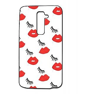 Pickpattern Back Cover For Lg G2 EYELASHLGG2-15911