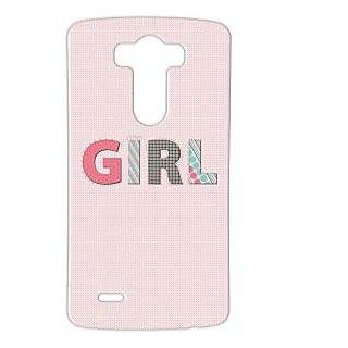Pickpattern Back Cover For Lg G3 GIRLLGG3-12732