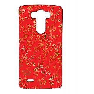 Pickpattern Back Cover For Lg G3 GOLDPATTERNLGG3-12820