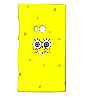 Pickpattern Back Cover For Nokia Lumia 920 YELLOWDUCK920-12034