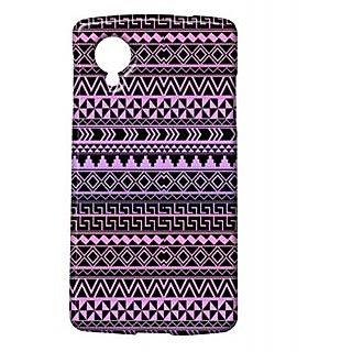 Pickpattern Back Cover For Lg Google Nexus 5 DARKVOILETN5-14319