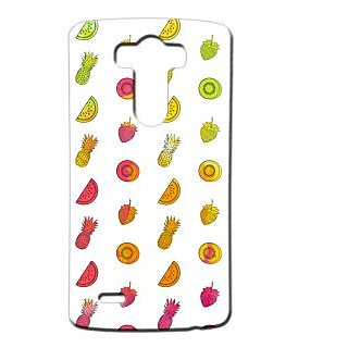 Pickpattern Back Cover For Lg G3 FRUITSLGG3-13331