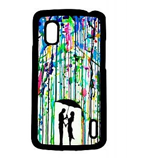 Pickpattern Back Cover For Lg Google Nexus 4 COLORRAINN4-16868