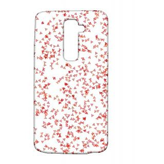 Pickpattern Back Cover For Lg G2 CUTIEBOWLGG2-15865
