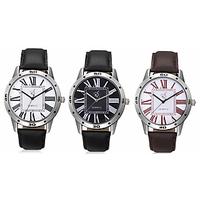 Rico Sordi Men 3 Pu Leather Analog Watch (Rsd164Www)