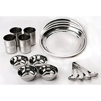 16 Pcs Stainless Steel Dinner Set