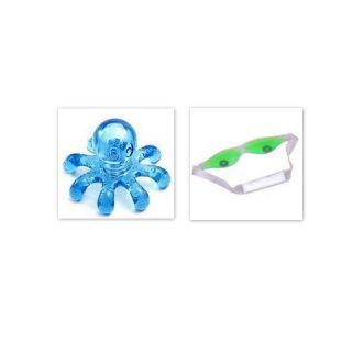 Combo of octopus body massager and Cool Eye Mask