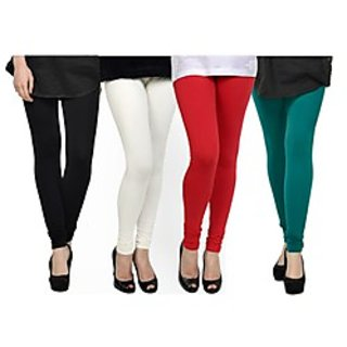 Kjaggs Multi-Color Cotton Lycra Full length legging (KTL-FR-1-2-3-12)