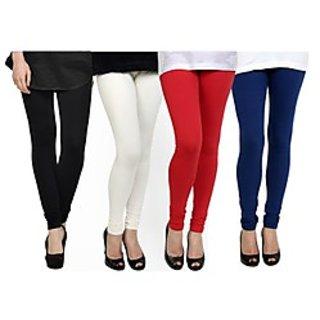 Kjaggs Multi-Color Cotton Lycra Full length legging (KTL-FR-1-2-3-14)