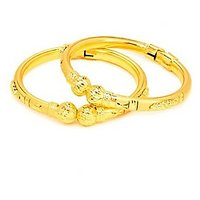 Stunning Rich Gold Pair Of Bangles