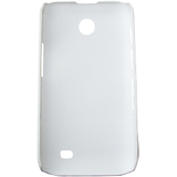 White Ultra Thin Rubberized Matte Hard Case Cover For Samsung Galaxy Ace Duos I589
