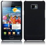 Black Ultra Thin Rubberized Matte Hard Back Case Cover For Samsung Galaxy S2 I9100