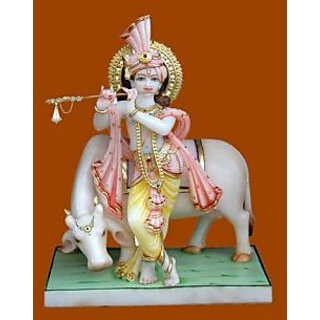 Marble Krishna Murti White Best Deals With Price