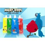 Set Of 6 Angry Birds Foldable Reusable Water Bottles