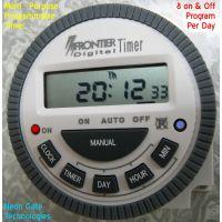 Multi Purpose Programmable Digital Timer  Frontier Brand  Model  TM-619H-2  220 V AC
