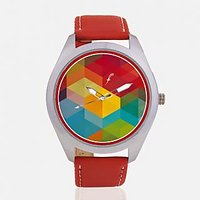 The 3D Geomatry Men Analog Watch By Foster's AFW0001839