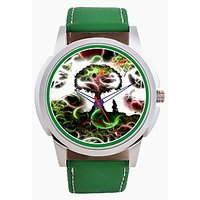 The Green Galexy Men Analog Watch By Foster's AFW0001878