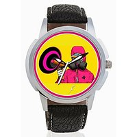 Ther Loud Speaker Men Analog Watch By Foster's AFW0001893