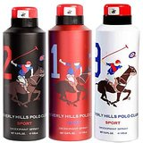 Beverly Hills Polo Club Deodorant Combo For Men - Sport (Two + One + Nine)