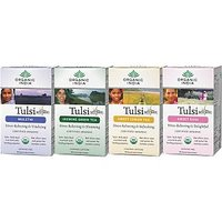 Set Of 4 Tulsi Tea 18 Tea Bags Tulsi Sweet Lemon Sweet Rose Jasmine Green Tea