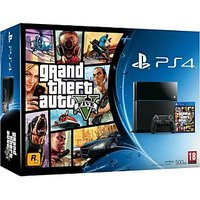 Sony PlayStation 4 Console with GTA 5 Bundle