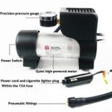PREMIUM COIDO 6218 METAL BODY CAR AUTO 12V ELECTRIC AIR PUMP COMPRESSOR INFLATOR