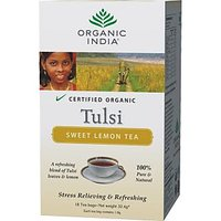 TULSI SWEET LEMON TEA 2 Packets 18 Tea Bags Each
