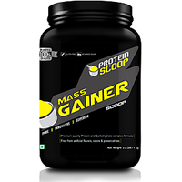 Protein Scoop Mass Gainer 3Kg/ 6.6 Lbs Vanilla