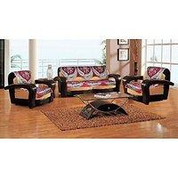 Set Of 10 Premium Gorgeous Maroon Sofa Slip Covers (SC028)