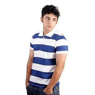 Polo Mansions Blue Stripe T-shirt