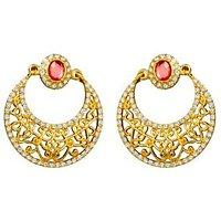 The Pari Pink Drop Earring (Tper-3380)