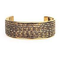 The Pari Gold Brass Cuff (BR-69)