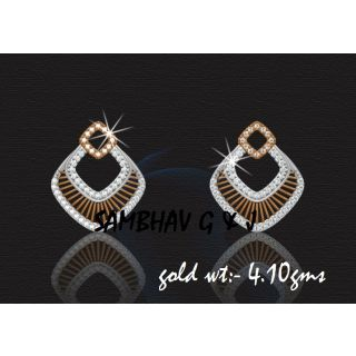 Sambhav Women's Earring (Yellow) SER164