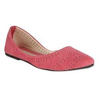 Zachho Pink Belleriana Flats HC76-PINK