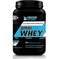 Protein Scoop Omni Whey Chocolate 1kg/ 2.2 Lbs
