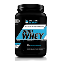 Protein Scoop Omni Whey Strawberry 1kg/ 2.2 Lbs