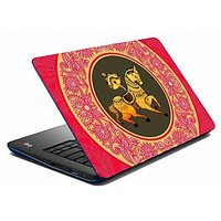 Mesleep Red Horse Circle Laptop Skin LS-05-20