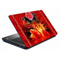 Mesleep Red Rose Laptop Skin LS-05-22