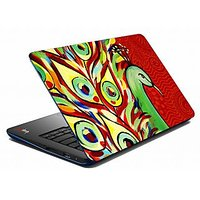 Mesleep  Red Peacock Laptop Skin LS-05-28