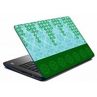 Mesleep Green Abstract Laptop Skin LS-05-29