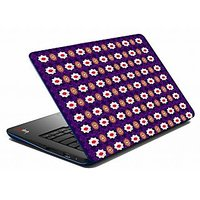 Mesleep Purple Abstract Laptop Skin LS-05-30