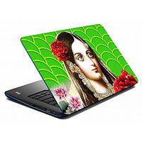 Mesleep Green Girl Laptop Skin LS-05-36