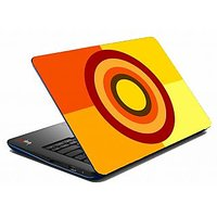 Mesleep Yellow Square Laptop Skin LS-05-37