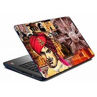 Mesleep Red King Wheel Laptop Skin LS-05-39